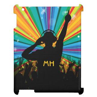 Music DJ custom monogram device cases iPad Case