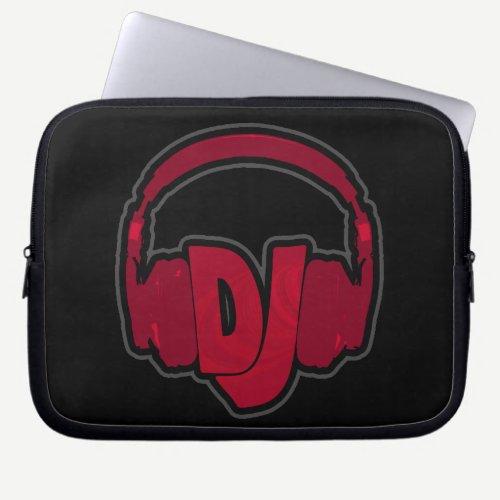 music DJ headphone Computer Sleeve