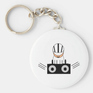 Music DJ Keychain