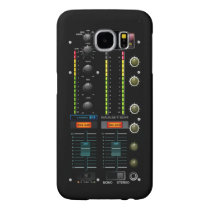 Music DJ Mixete Mixer Samsung Galaxy S6 Case