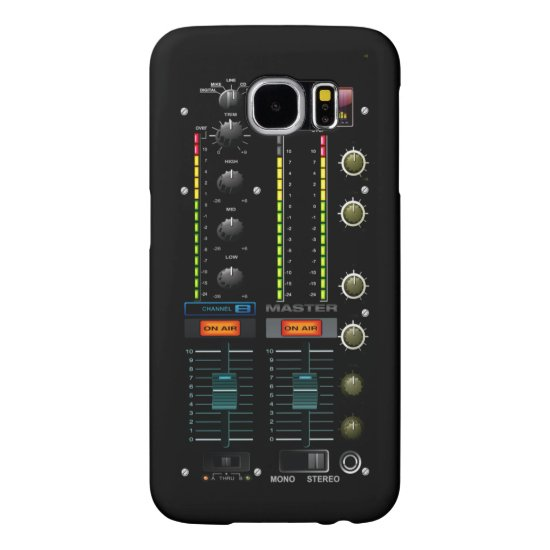 Music DJ Mixete Mixer Samsung Galaxy S6 Case