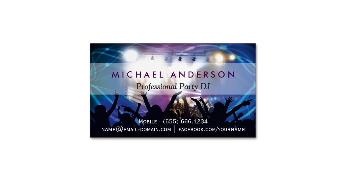 Disco Business Cards & Templates | Zazzle