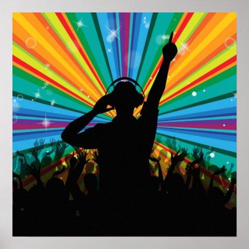 Music DJ poster