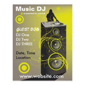 Music DJ Rave Flyer