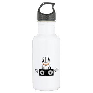 Music DJ Stainless Steel Water Bottle