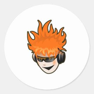 Music DJ Sticker