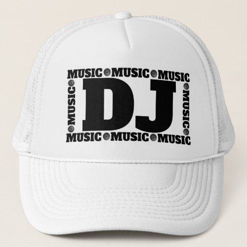 Music DJ Trucker Hat