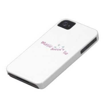 music doesn't lie Case-Mate iPhone 4 case