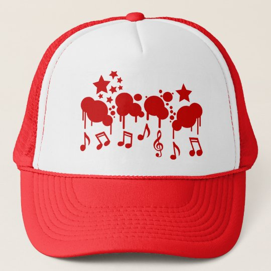 Music Drips hat - choose color