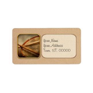 Music - Drum - Cadence Custom Address Label