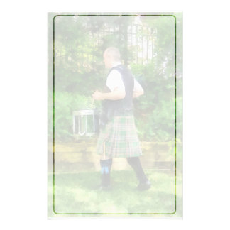 Music - Drummer in Pipe Band Stationery