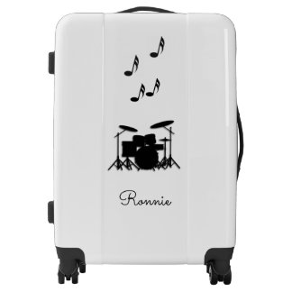 Music Drums Personal Luggage