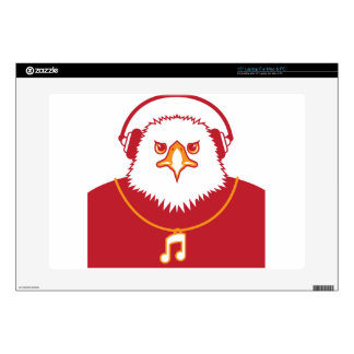 "Music Eagle 15"" Laptop Skin"