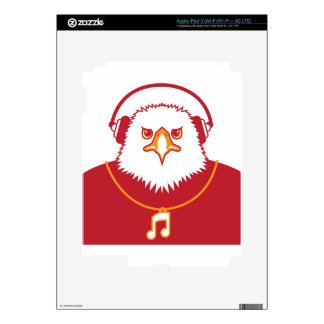 Music Eagle Decal For iPad 3