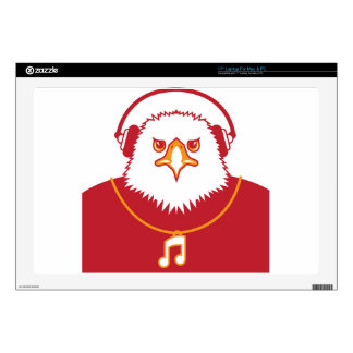 Music Eagle Decal For Laptop