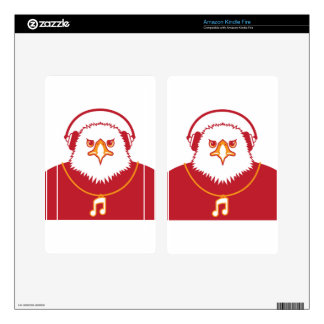 Music Eagle Kindle Fire Decal