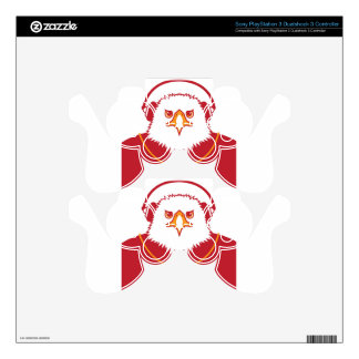 Music Eagle PS3 Controller Skins