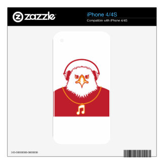 Music Eagle Skin For The iPhone 4