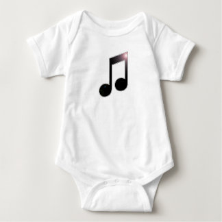 Music Eighth Note Baby Bodysuit