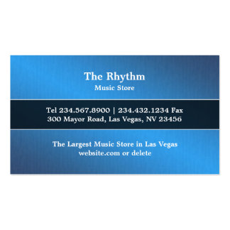 Music Electric Guitar Business Card