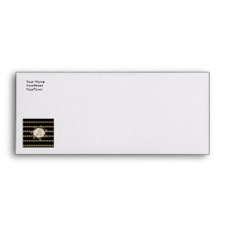 Music, elegant stripes as background with key note envelopes