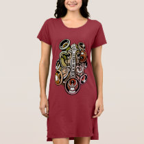 music elephant dress