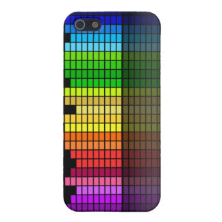 Music Equalizer Rainbow Bars Cover For iPhone SE/5/5s