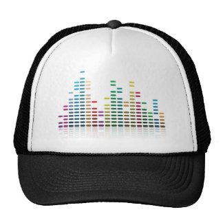 music equalizer trucker hat