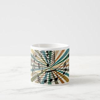 Music Espresso Cup