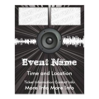 Music Event Flyer Speaker Blast