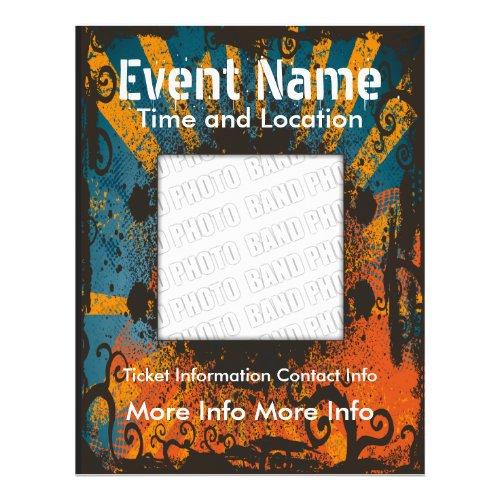 Music Event Grunge Flyer flyer