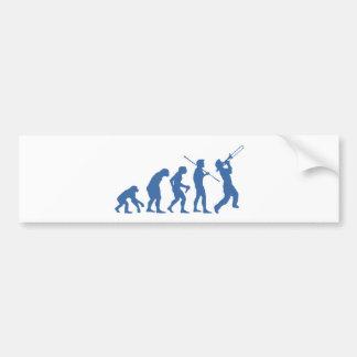 Music Evolution Bumper Sticker