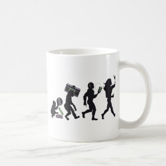 Music Evolution Coffee Mug