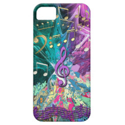 Music Explosion iPhone 5 Covers