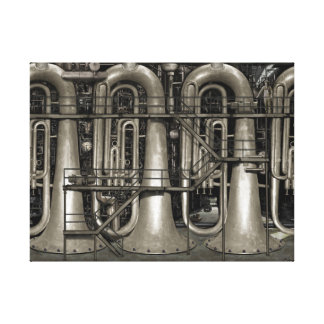 Music Factory Canvas Print
