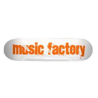Music Factory Skate Deck