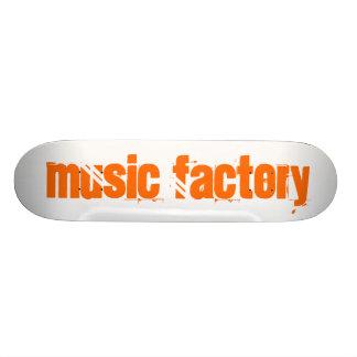 Music Factory Skateboard Deck