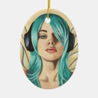 Music Fairy Ornament Faerie Funk #2 Ornament