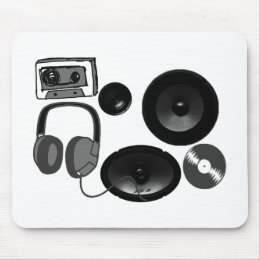 Music Fan gifts! Mouse Pad