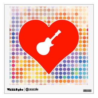 Music Fan Room Stickers
