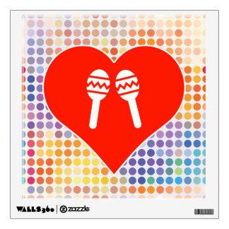 Music Fan Wall Sticker
