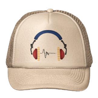 Music Fascination Head Phone Trucker Hats