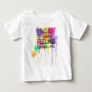 Music & Feelings Infant T-shirt