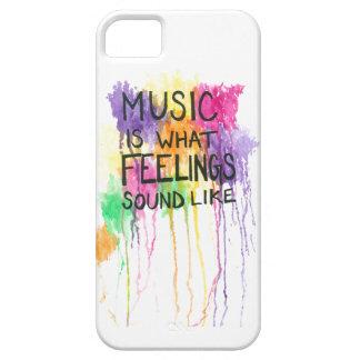 Music & Feelings iPhone SE/5/5s Case
