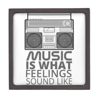 Music Feelings Jewelry Box