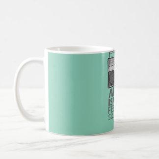 Music Feelings Classic White Coffee Mug