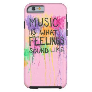 Music & Feelings Tough iPhone 6 Case