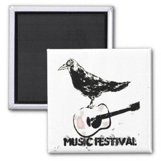 music festival art magnet