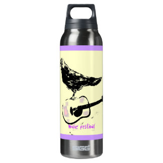 music festival art SIGG thermo 0.5L insulated bottle