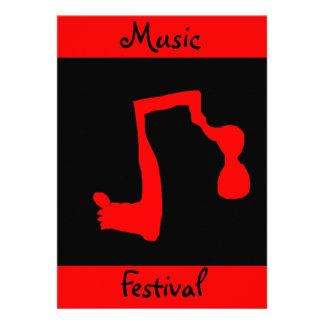 Music Festival Invitation - Customizable